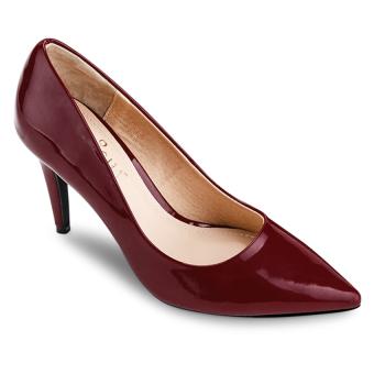 Giày cao gót bít mũi Sarisiu XT749 (Đỏ)