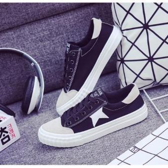 Giày Sneaker Nữ L&A Fashion (Đen)