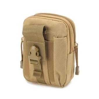 Camping Climbing Outdoor Phone Bag Waist Hip Belt Wallet Purse Case Pouch KH - intl
