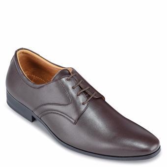Giày Tây Nam Da Bò SunPoLo KS111N (Nâu nhạt)