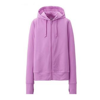 Áo khoác chống nắng cotton chất mềm nhẹ thời trang cho nữ (tím)