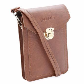 Túi đeo đựng điện thoại PAPA PPDT001 (Bò đậm)