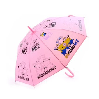 HKS B-A6002 Creative Cartoon Images Umbrella Pink - intl