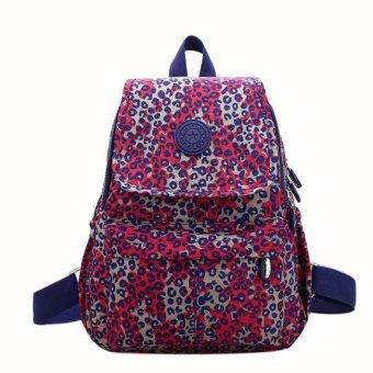 Girls Nylon leisure Backpack Rucksack School Satchel Hiking Bag Bookbag - intl