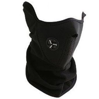 Fancyqube Warm Neck Face Mask Black