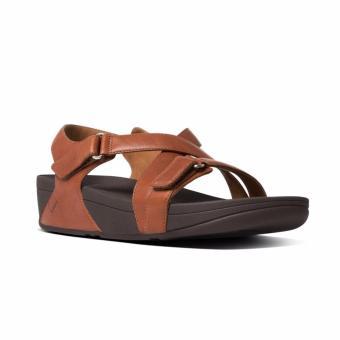 Giày Fitflop Skinny Sandal (Nâu đậm)