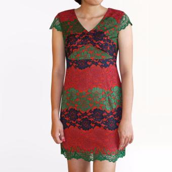 Đầm ren 3 tầng OYO FASHION (3 màu)