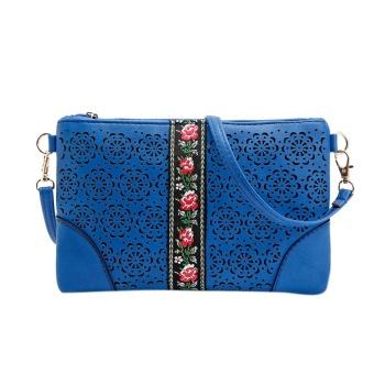 Women Handbags Shoulder Messenge Bag Flowers Vintage Hippie Embroidered Bag BU - intl