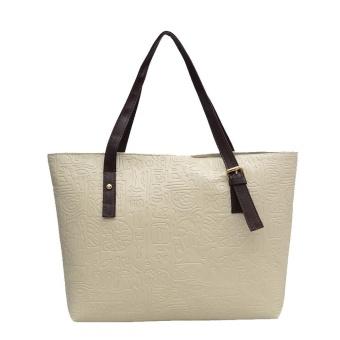 Women Fashion Handbag Shoulder Bag Tote Ladies Purse Small Square Bag B - intl