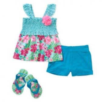 Bộ 3 món đồ bộ bé gái – Healthtex