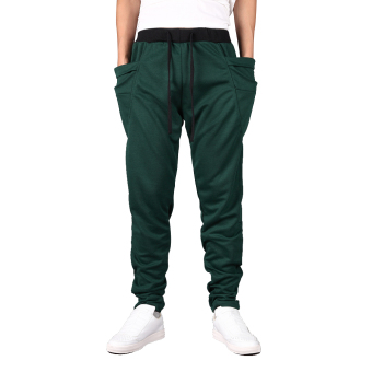 Boy Baggy Sweat Pants (Green) (Intl)
