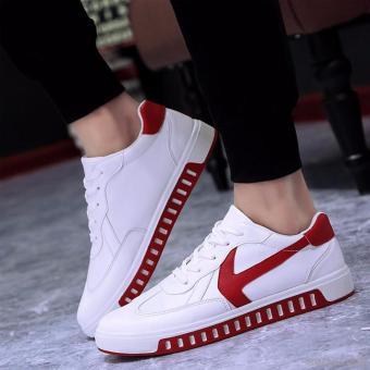 Giày Sneaker Nam Rozalo RMG4129WR-Trắng Đỏ.