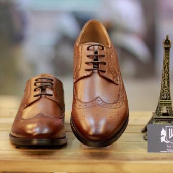 Giày công sở nam Kazin màu nâu - KZN0039