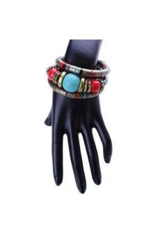 Moonar Bohemian Multilayer Bead Bracelet