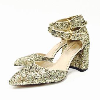 Giày cao gót thời trang Top Shop (Màu vàng đồng) - US:6.5/UK:4.5/EU:37.0 - EU:37.0