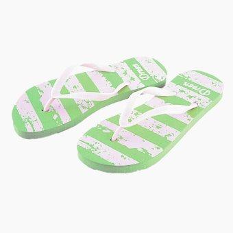 Wholesale Summer Style Women Casual Soft Beach Flip Flops Female Girls Leisure Home House Non-slip Slippers 18 Kinds of Pattern - intl