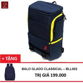 Ba lô Laptop Glado Cylinder BLC001 (Xanh) + Tặng Balo Classical