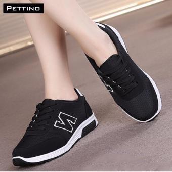 Giày Thể Thao Nữ Cao Cấp - Pettino MT-01 (đen)
