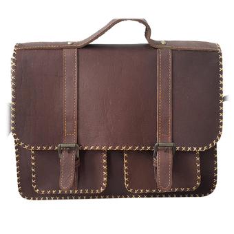 Túi xách da nữ Vkevin CS9A (Nâu)