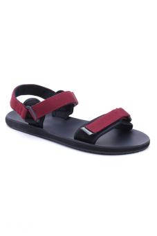 Giày Sandal nữ DVS WF034 (Đỏ đô)