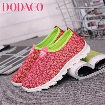 Giày Sneaker Nữ Thời Trang DODACO DDC1860 (Hồng)