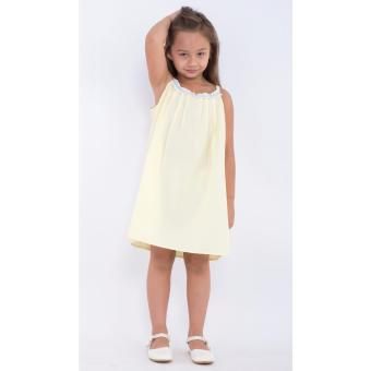 Đầm bé gái Ugether UKID178 (Vàng)