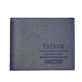Slim Men Leather Bifold Wallet Purse - intl