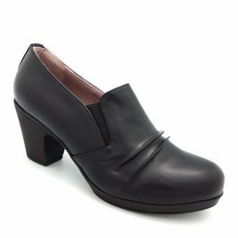 Giày cao gót đế dày Carlo Rino 333010-186-08 (đen)