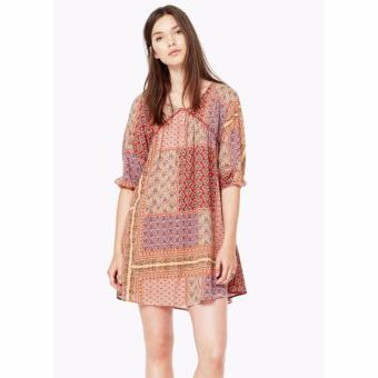 Váy Thời Trang Nữ Mango Folkyfo