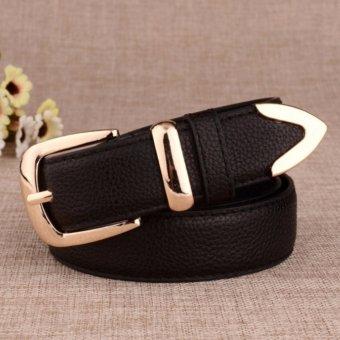 Dây lưng nữ thời trang thanh lịch ROT012 (Đen) - 3713818