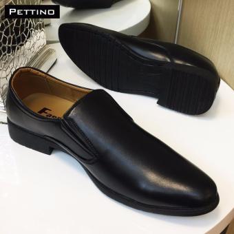 GIÀY LƯỜI CÔNG SỞ CAO CẤP - Pettino GL12 (đen)