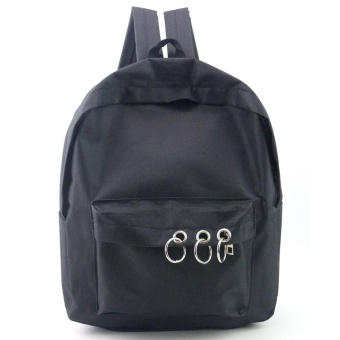 Women Fashion Travel Satchel School Bag Backpack Bag BK - intl