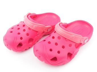 Giày lười nữ CROCS Swiftwater Clog K Raspberry/Coral 202607-6MP (Hồng)
