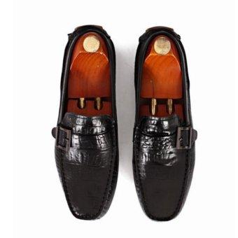 Giày mọi Alessandro Luigi LG92-75 (Đen)