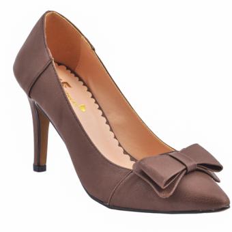 Giày thời trang cao gót 7 phân Aly (Cacao)