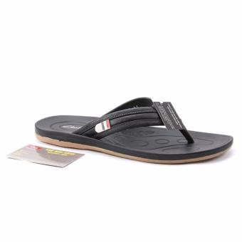 Dép nam Da Thật Cao cấp chính hãng Giày Da Miền Trung VCTD0LZD032D-1 (đen)
