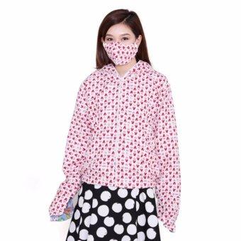 Áo chống nắng 2 lớp in hình ngộ nghĩnh kèm khẩu trang 3 lớp Dma store