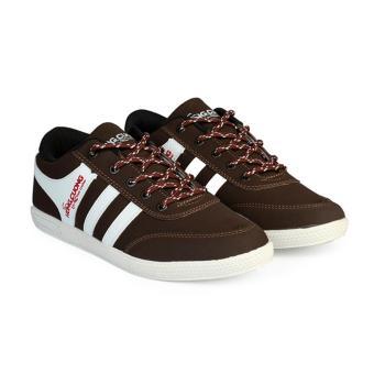 Giày thể thao nam thời trang Hùng Cường HC1405 (Nâu)