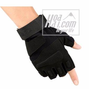 Găng tay kiểu tác chiến cảnh sát đặc nhiệm HAOAHAI.COM (đen)