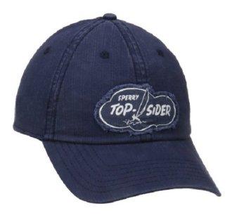 Mũ (nón) thể thao nam Xanh navy Sperry Top-Sider Men's Washed Twill Cap (Mỹ)