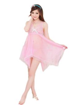 Váy ngủ tiên cá Huy Kiệt V069 (Hồng)