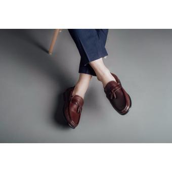 Giày lười nam Laforce đục lỗ quả chuông GNLA88K68-CF