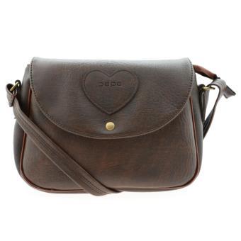 Túi đeo chéo nữ PAPA PPT002 (màu nâu)