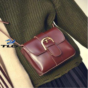 Túi đeo chéo phong cách Hàn Quốc Đồ Da Thành Long TLG 208093 2(nâu sậm)