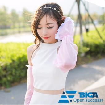 Khẩu trang trùm cổ tránh nắng 95% tia UV kiểu dáng Hàn Quốc US04564 (Giao màu ngẫu nhiên)