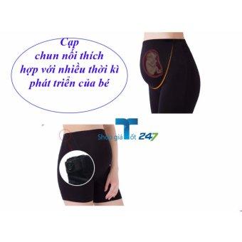 Combo 02 Quần mặc trong váy chất liệu cotton mềm mại có thể nới rộng ( ĐEN +da )