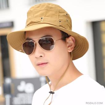 Mũ nón nam vành rộng Rozalo RM21403B (Nâu)