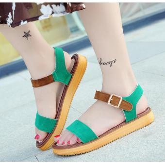 Giày Sandal Nữ Mùa Hè Cực Xinh (Xanh)