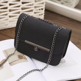 Túi đeo chéo nữ đa năng Hưng Việt (màu đen)