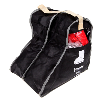 Boot Shoes Storage Bag Protector Organizer Dustproof Container(Black) (Intl)